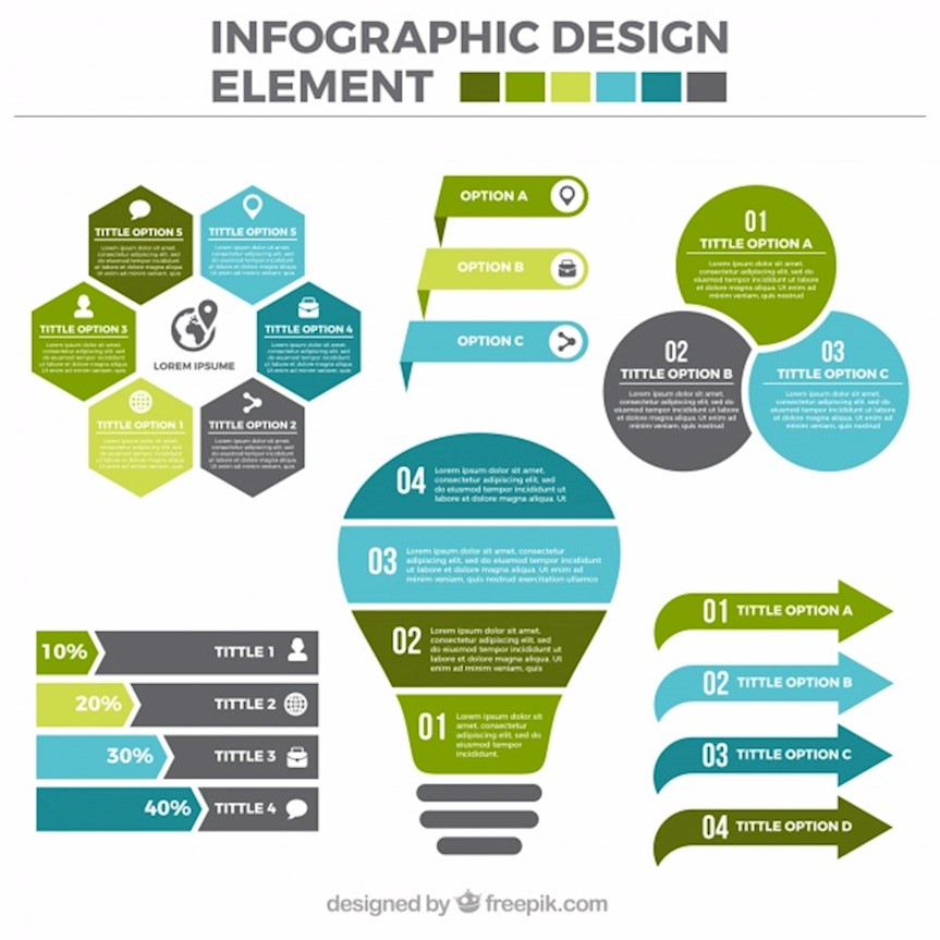 Elements By Design : Cool infographic templates to create amazing designs