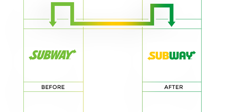 subway logo redesign