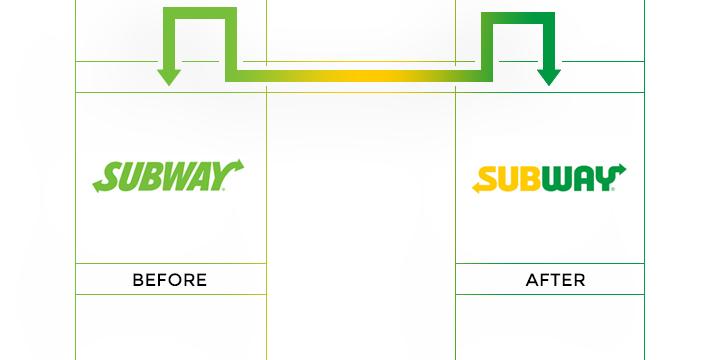 subway logo redesign