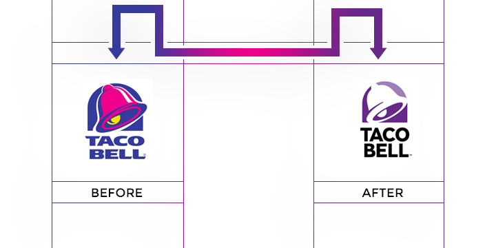 taco bell logo redesign