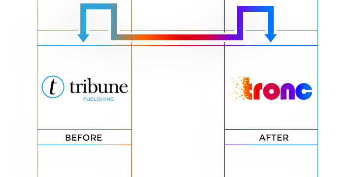 tronc logo redesign