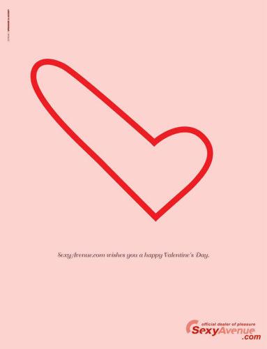 Most Creative Valentine\'s Day Ads Design. Valentine\'s Day Inspiration