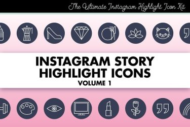highlight instagram icons story icon stories sets covers bloggers brilliant brands templates modern