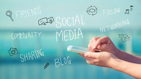 social media and web design, build a website and a facebook page