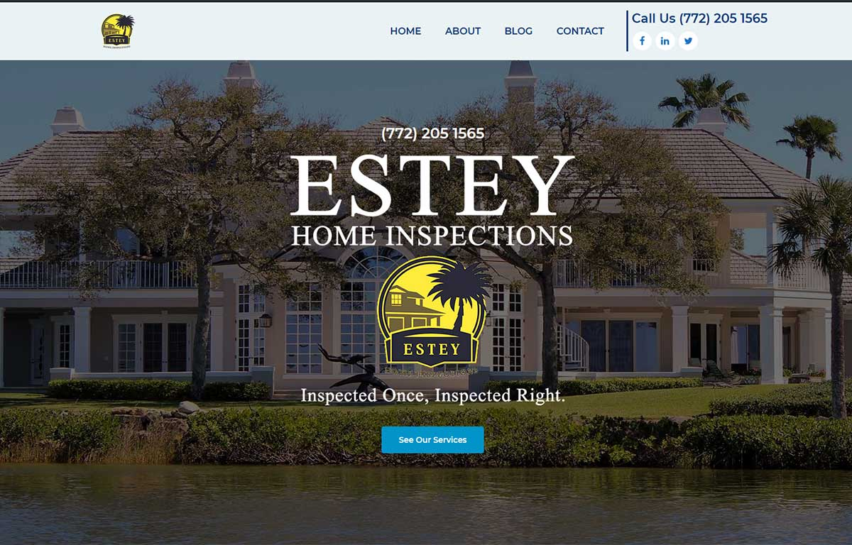 Estey Home Inspection, Vero Beach, FL