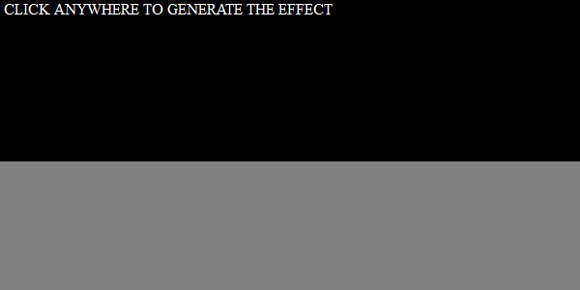 Camera Flash Effect with jQuery