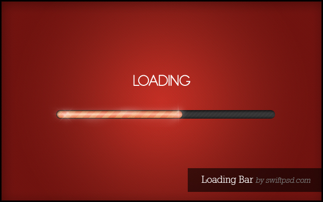 Loading Bar PSD2