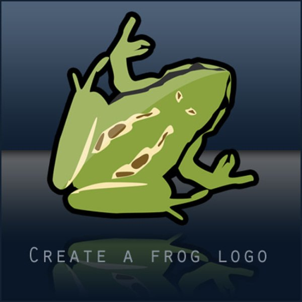 Create-a-frog-logo-in-Photoshop