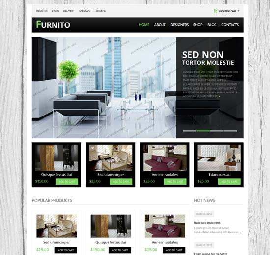 drupal themes free download ecommerce