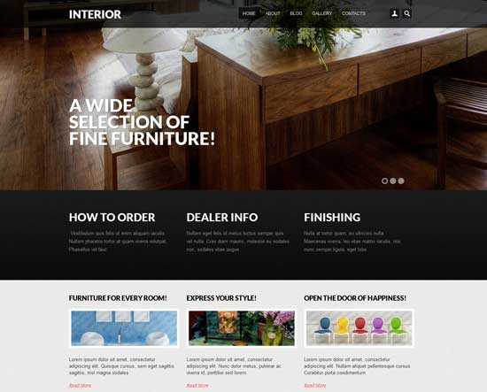 Interior-Design-Drupal-7-templates