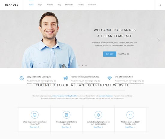 Blandes-best-WordPress-theme-2014