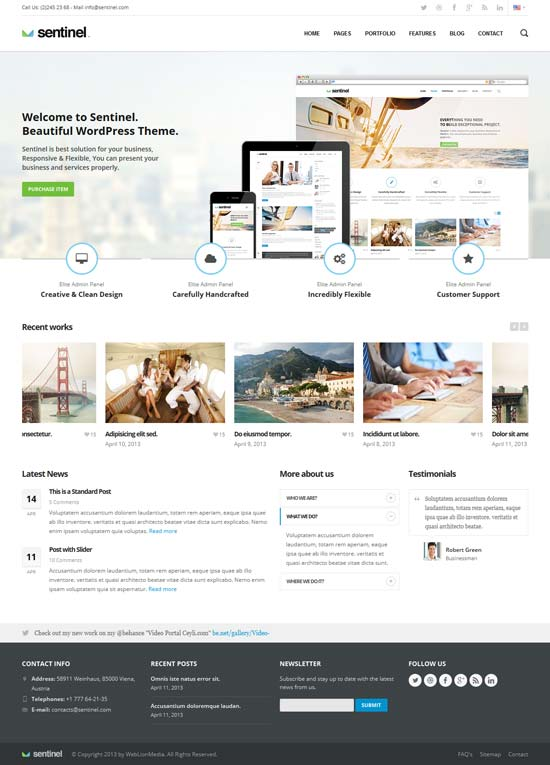 Sentinel-Responsive-Multi-Purpose-Business-Template