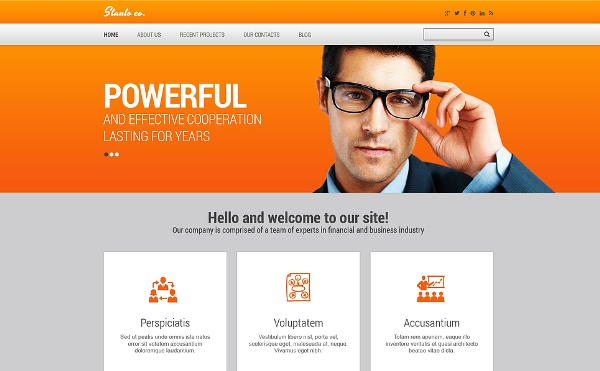 75 free bootstrap html5 website templates web design wheel small business website template accmission