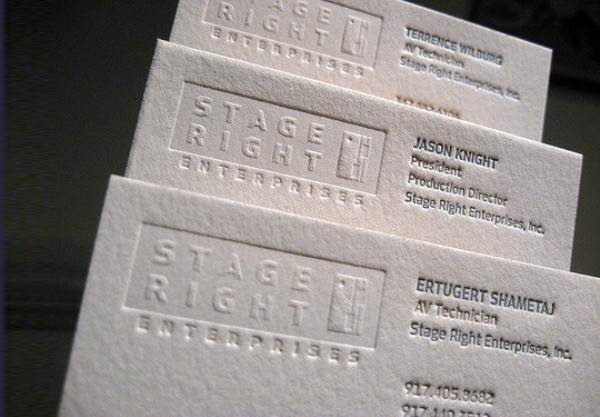 White Business Cards 9