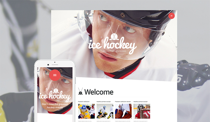 Hockey WordPress Theme
