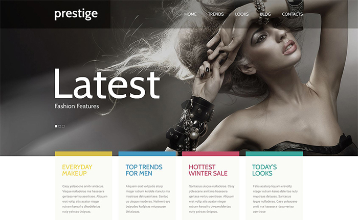 Fashion WordPress Template