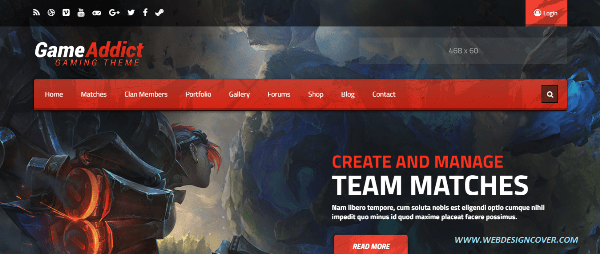 40+ Best Gaming WordPress Themes 2017