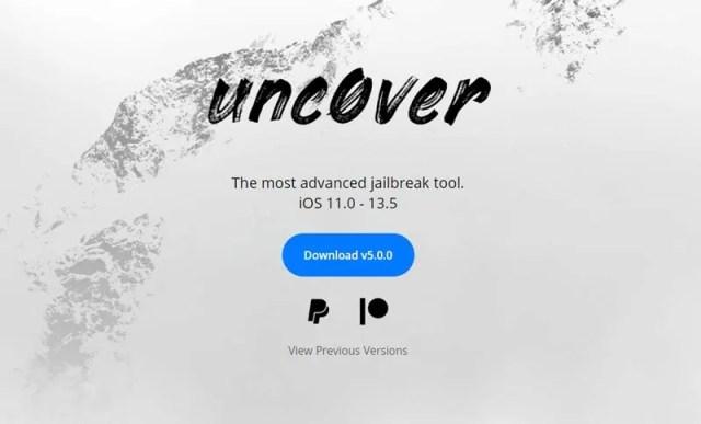 ios 13.5 jailbreak unc0ver