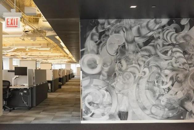 Data-Driven Office Art
