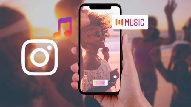 Instagram Hikayeye Müzik Ekleme