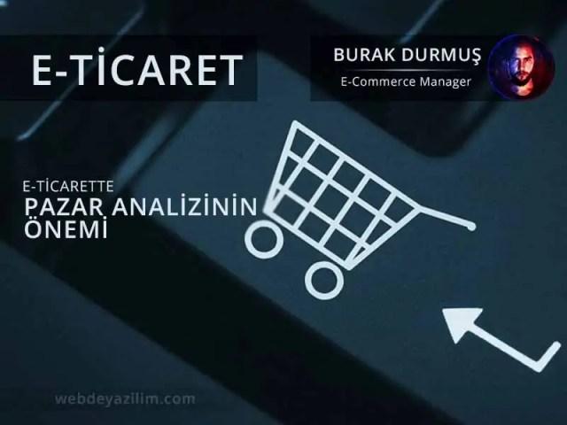 E-Ticarette Pazar Analizinin Önemi