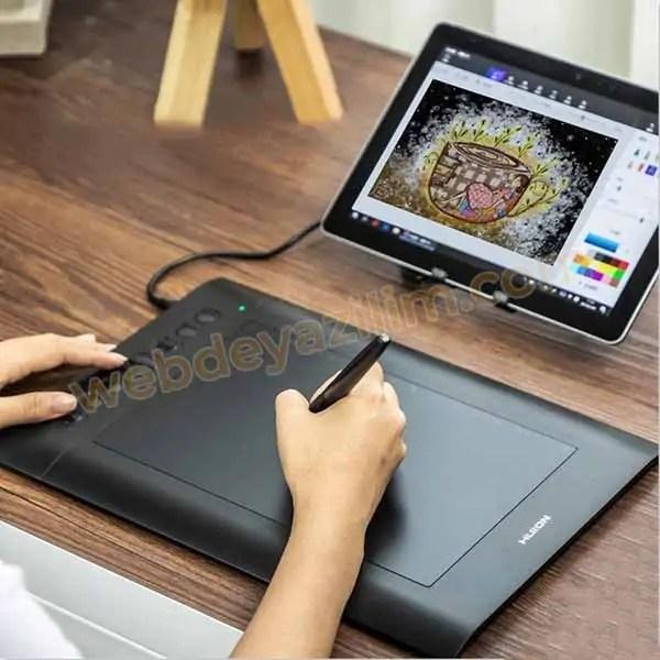 Huion H610 Pro V2 Grafik Tablet