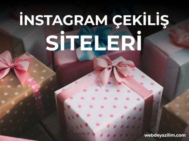 En iyi instagram çekiliş siteleri