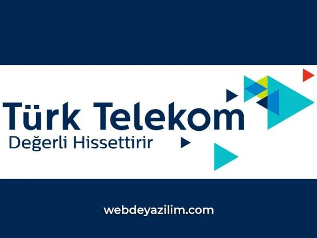 Türk Telekom Gizliye Kapatma