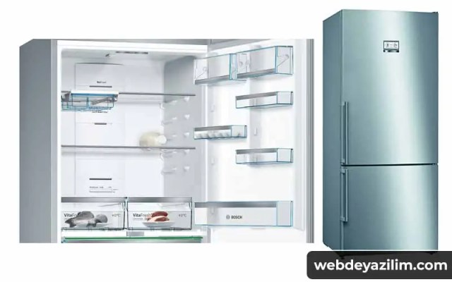 Bosch KGN76AIF0N Buzdolabı
