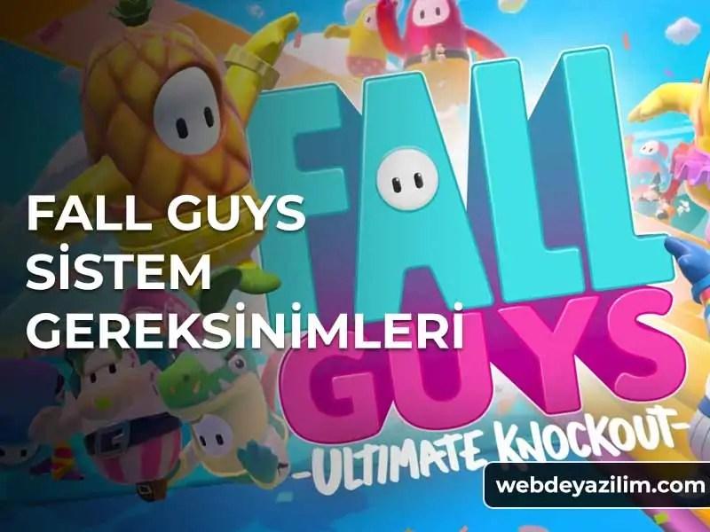 Fall Guys Sistem Gereksinimleri - Donanım Özellikleri