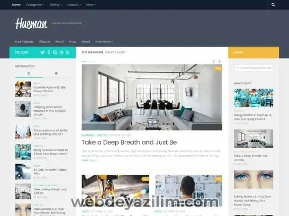 Hueman WordPress Teması