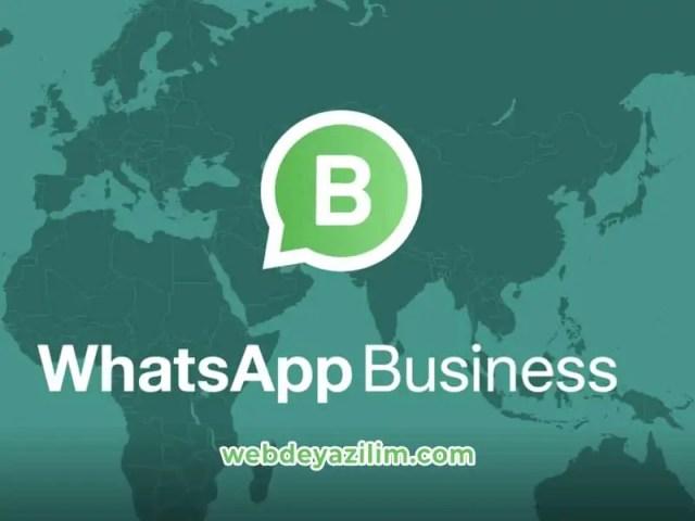 WhatsApp Business Hakkında Bilmek İstedikleriniz