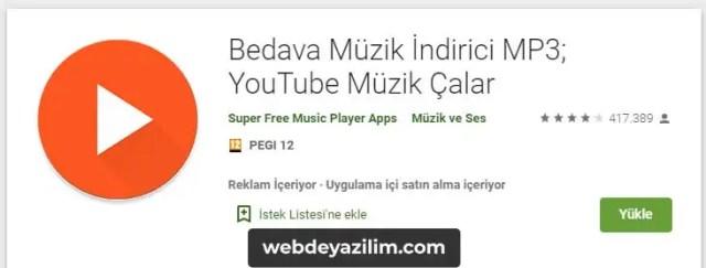 Android için en iyi YouTube MP3 İndirme Programı
