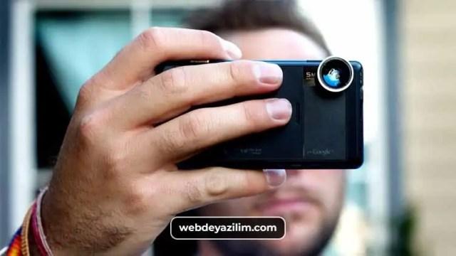 Telefon Alırken Dikkat Edilmesi Gerekenlerden Biri de Telefonun Ön ve Arka Kameralarıdır