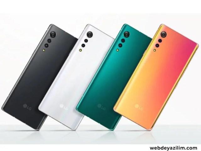 LG Velvet Özellikleri ve Fiyatı - Şık ve Farklı Akıllı Telefon