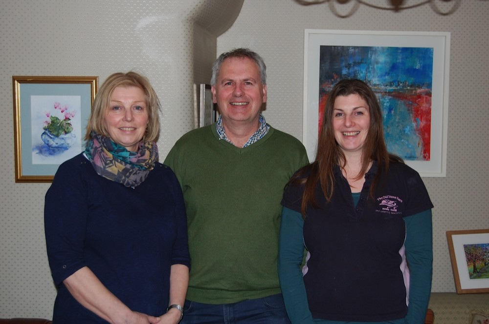 Ruth, Garry & Fiona Pibworth