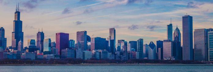 Skyline nach Ausschneiden in Bildbearbeitung