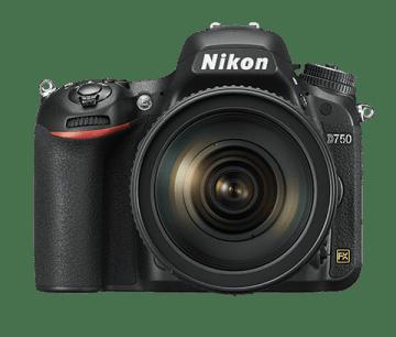 Nikon D750 Frontansicht