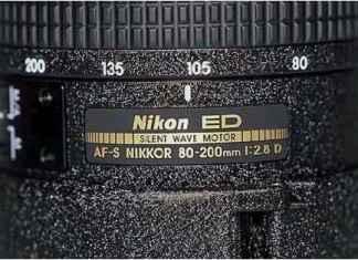 Abkürzung bei Nkikon Nikkor Objektiv