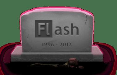 Renunciar aFlash