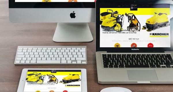 dizajn internetske stranice za tvrtku iz splita