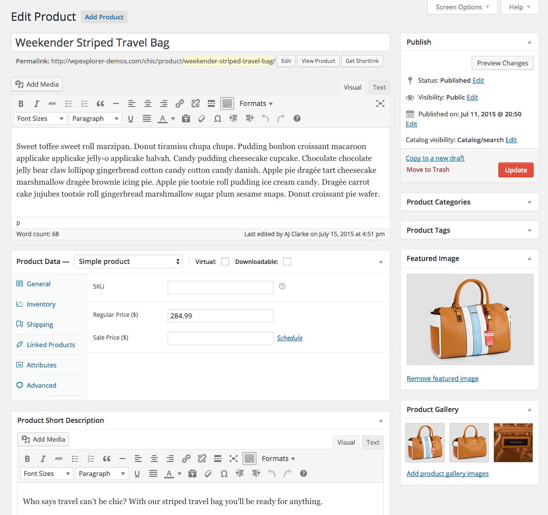 dodavanje proizvoda u web shopu