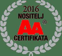 Certifikat izvrsnosti