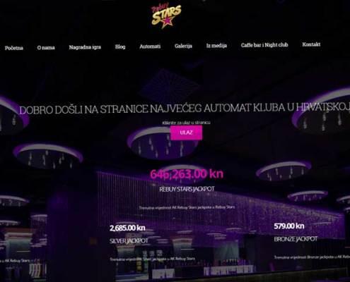 izrada internet stranica za automat klub