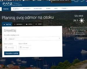 web stranica za otok vis