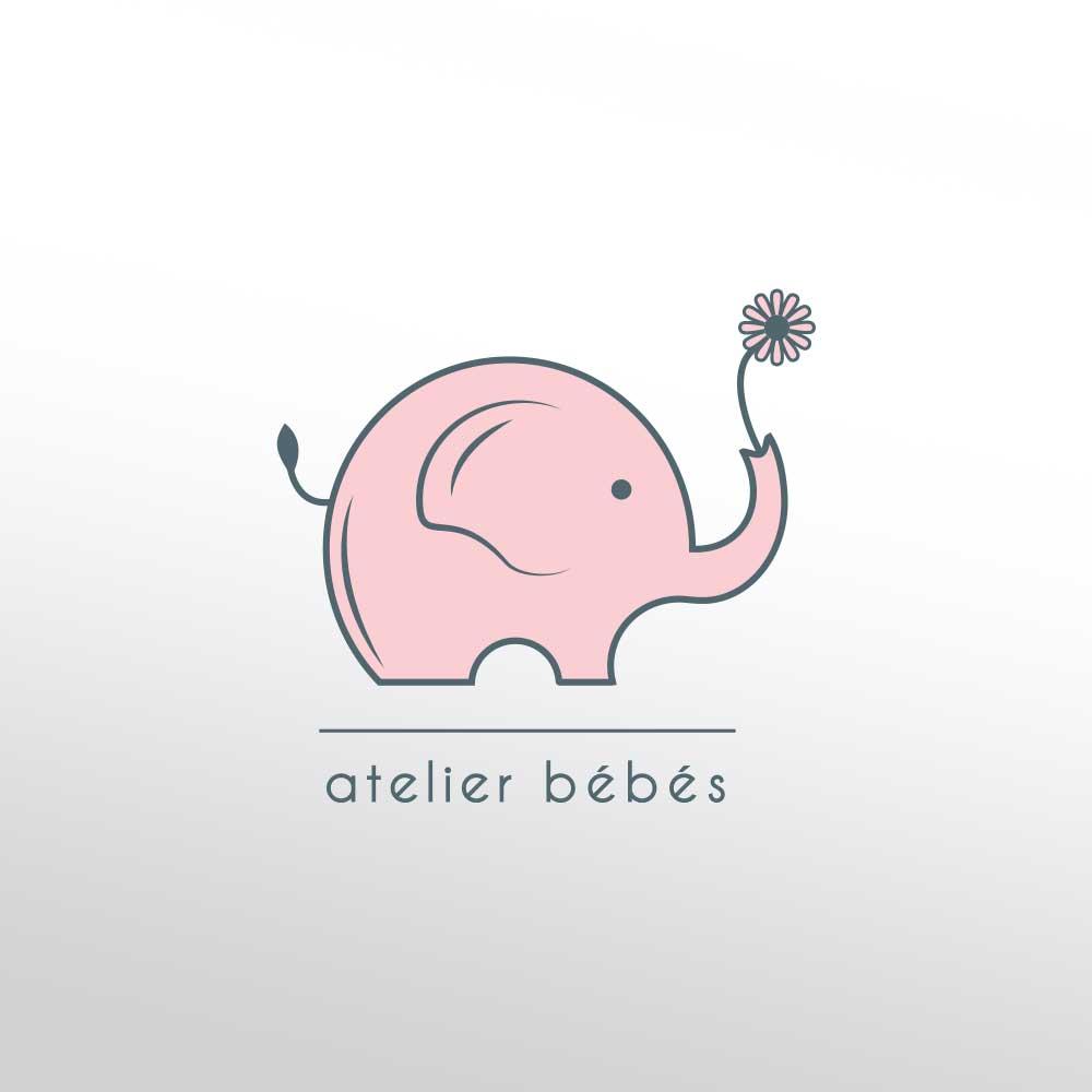 Logotip za Atelier Bebes