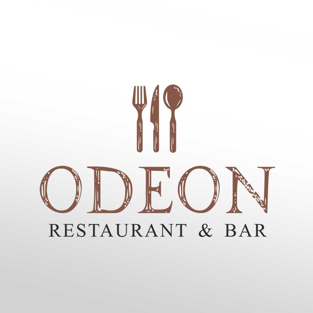 Logotip za restaurant Odeon u Zagrebu