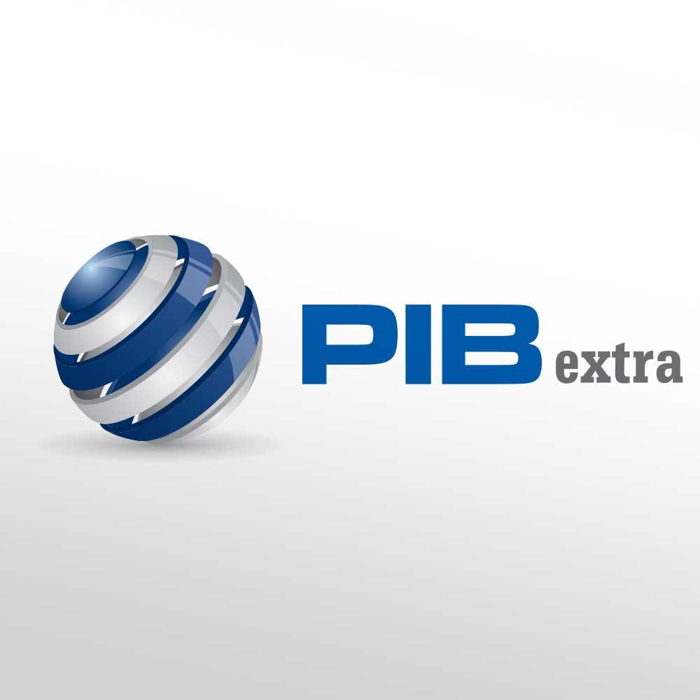 Logotip za tvrtku PIB extra iz Varaždina