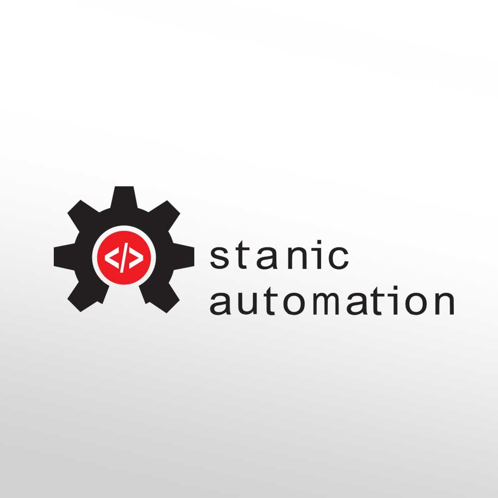 Logotip za Stanic automation tvrtku