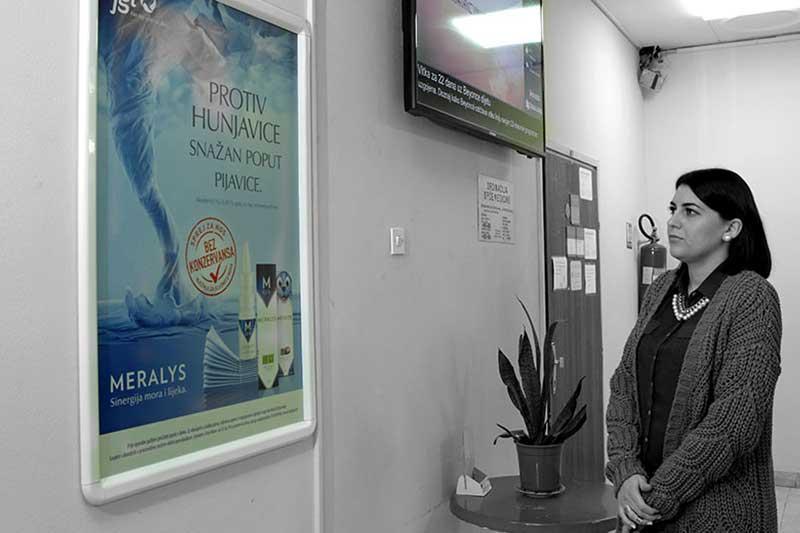 Plakati u polikliniki